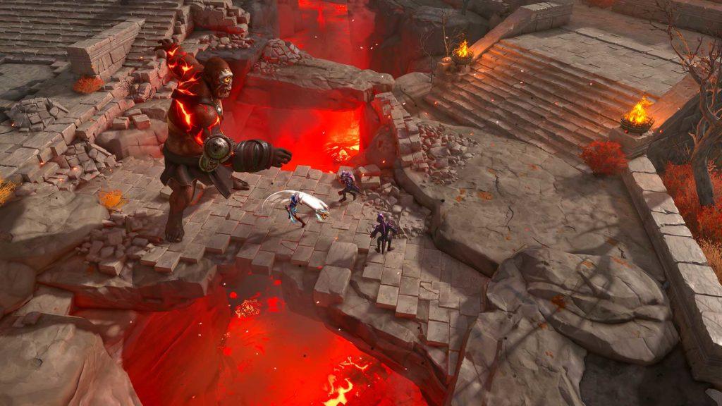 """Ein weiterer Neuer Held, Ash sowie Top-Down-Gameplay erhalten mit """"Die verlorenen Götter"""" Einzug in Immortals Fenyx Rising. Quelle: Ubisoft"""