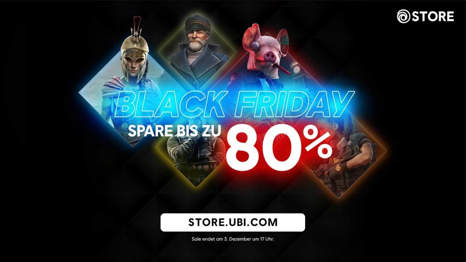 Ubisoft Black Friday 2020 babt