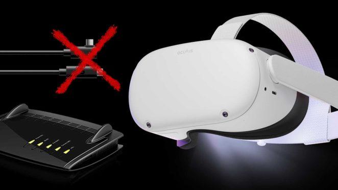 oculus quest 2 kabellos