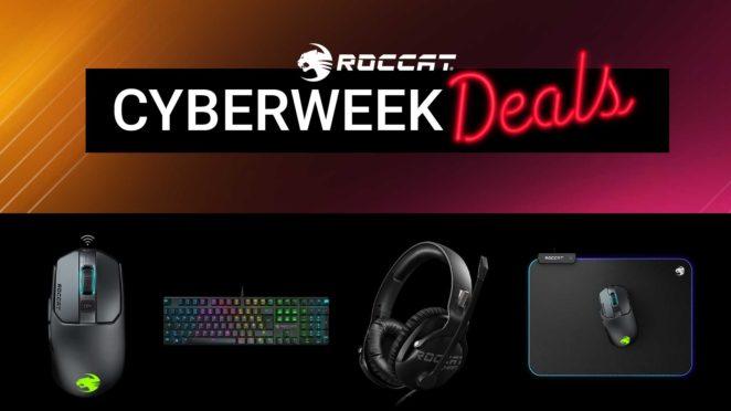 roccat cyber week 2020
