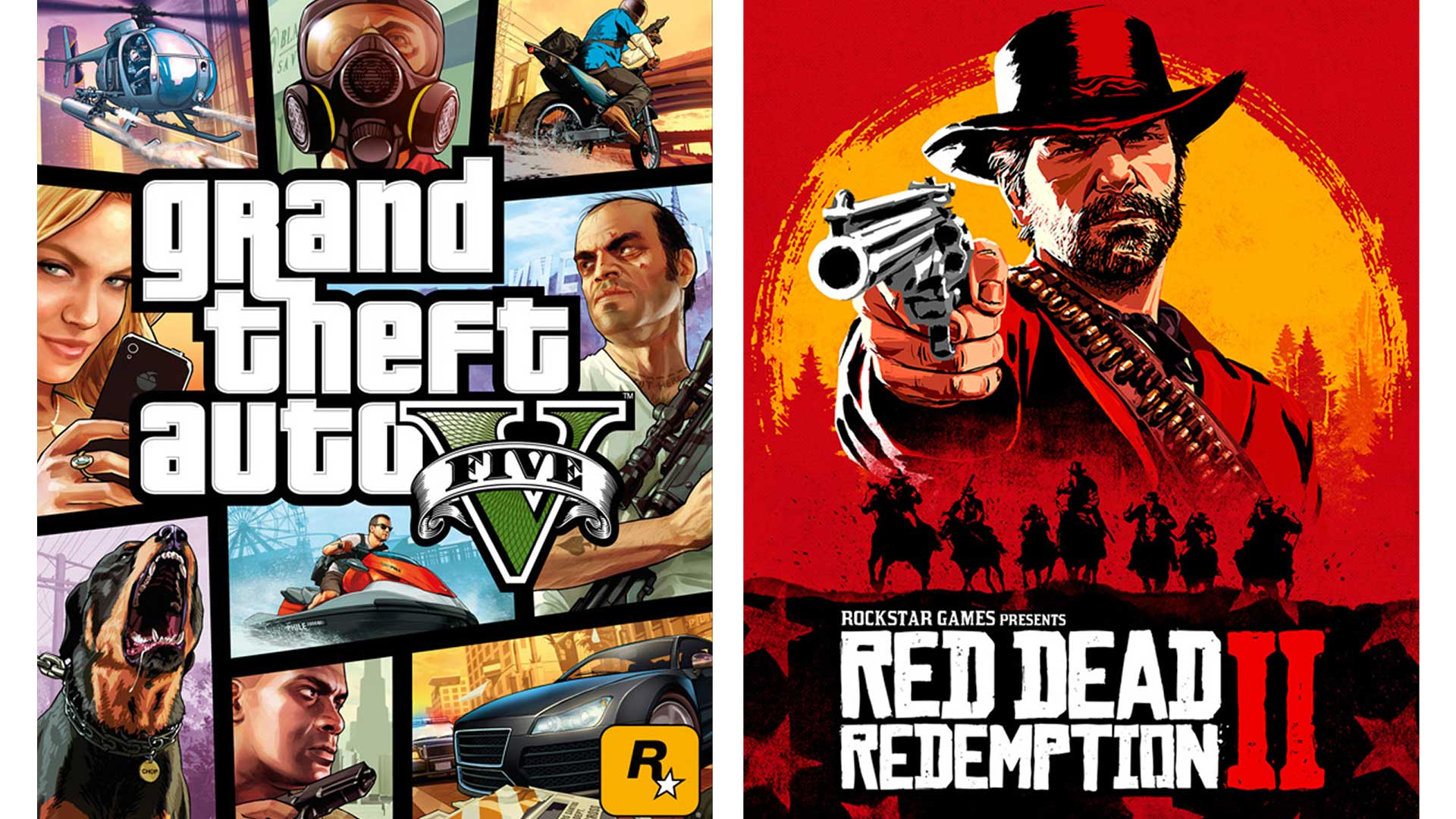 rockstar games gta5 rdr2