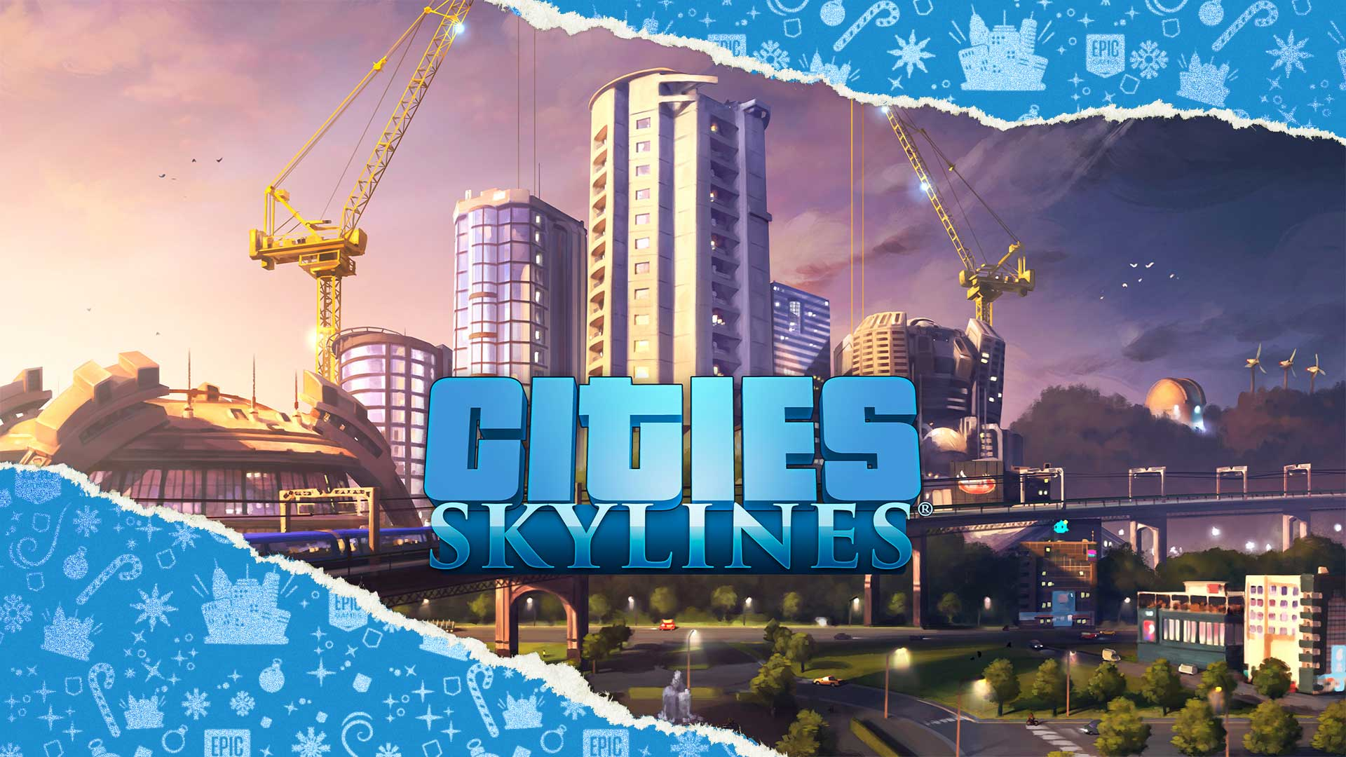 EGS HolidaySale2020 DoG CitiesSkylines