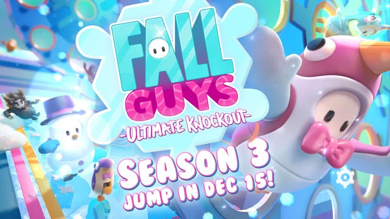 Fall Guys Season 3 Winter Knockout December 15 1