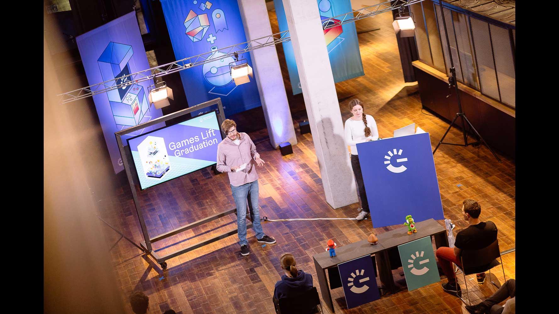 Gamecity Hamburg Games Lift Graduation babt