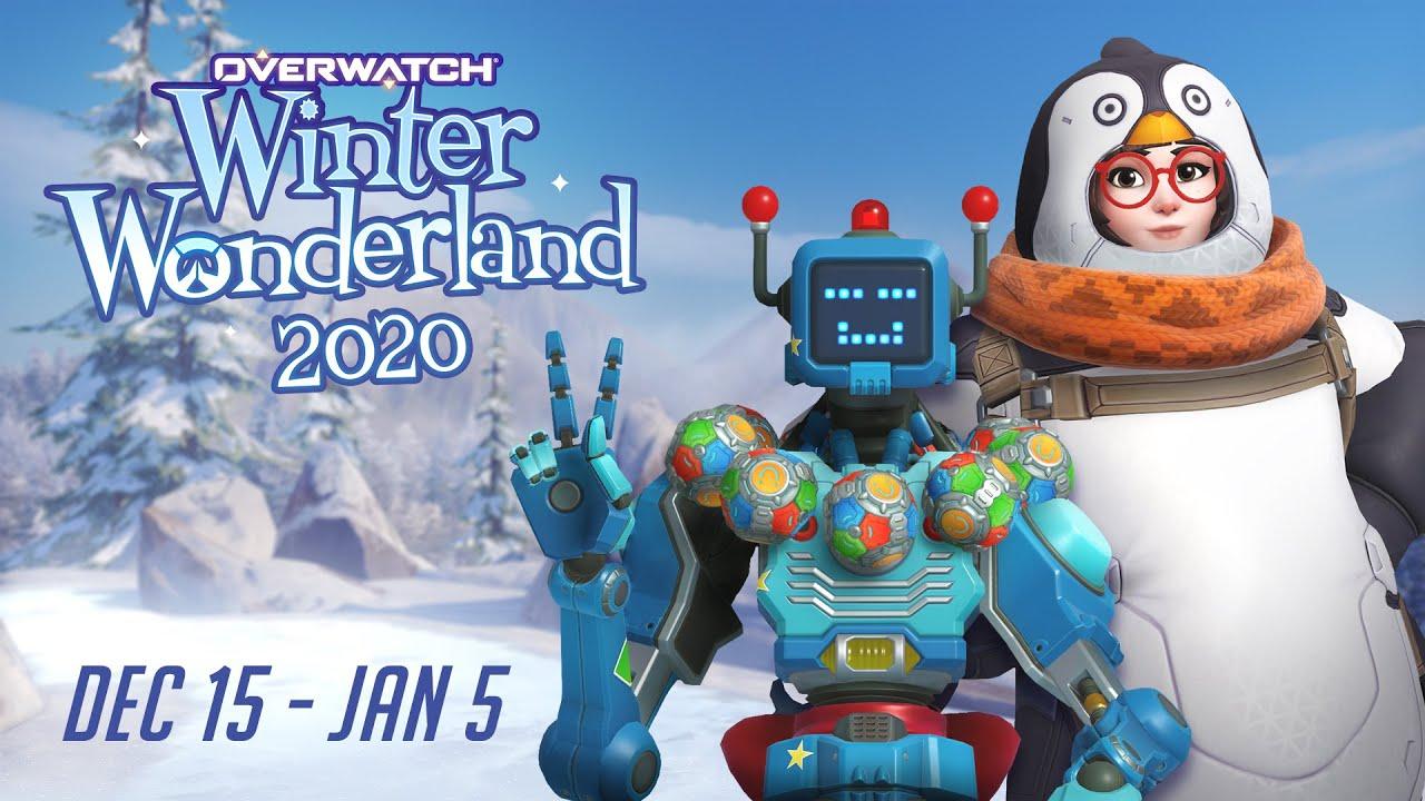 Overwatch Winter Wonderland Overwatch Seasonal Event