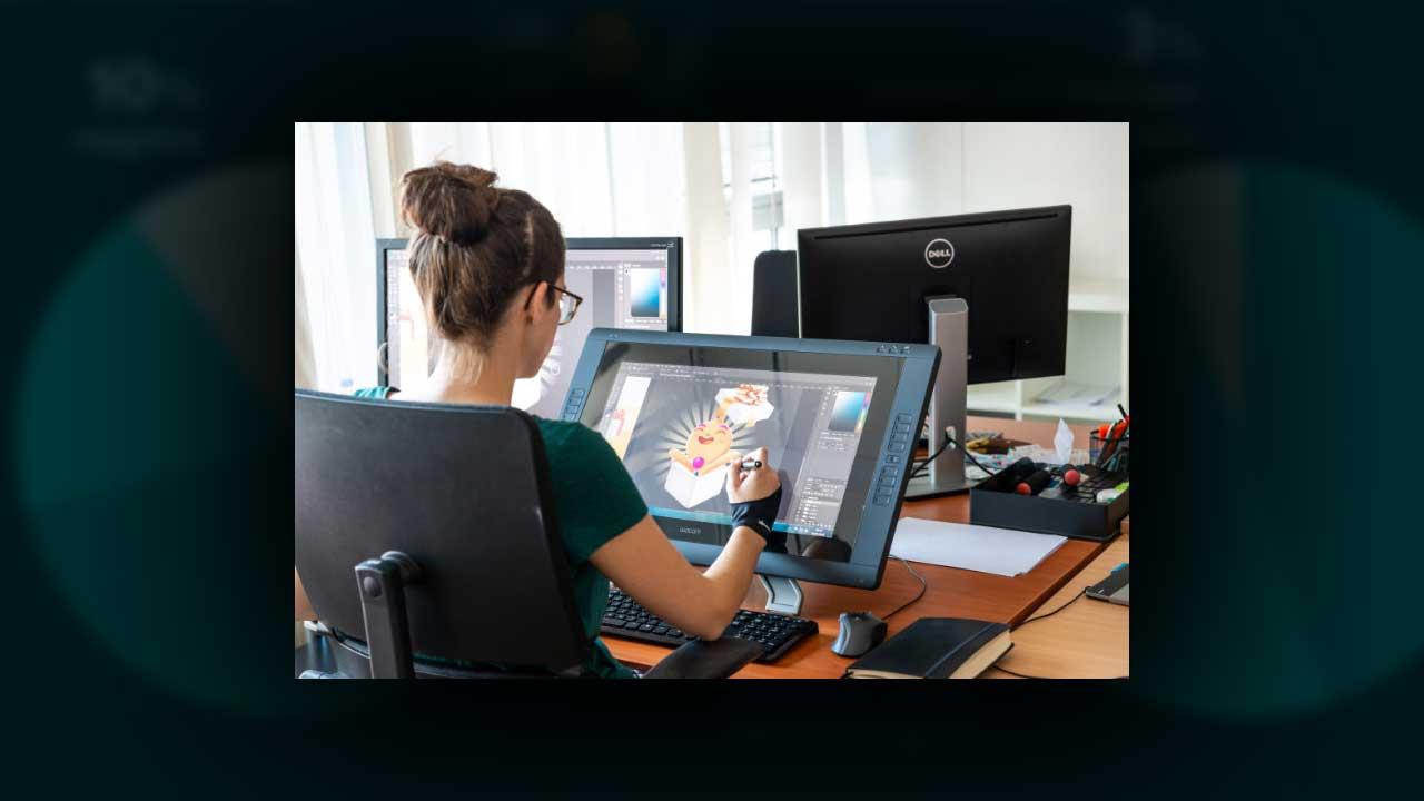 Pressefoto Softgames Grafik Designerin web babt