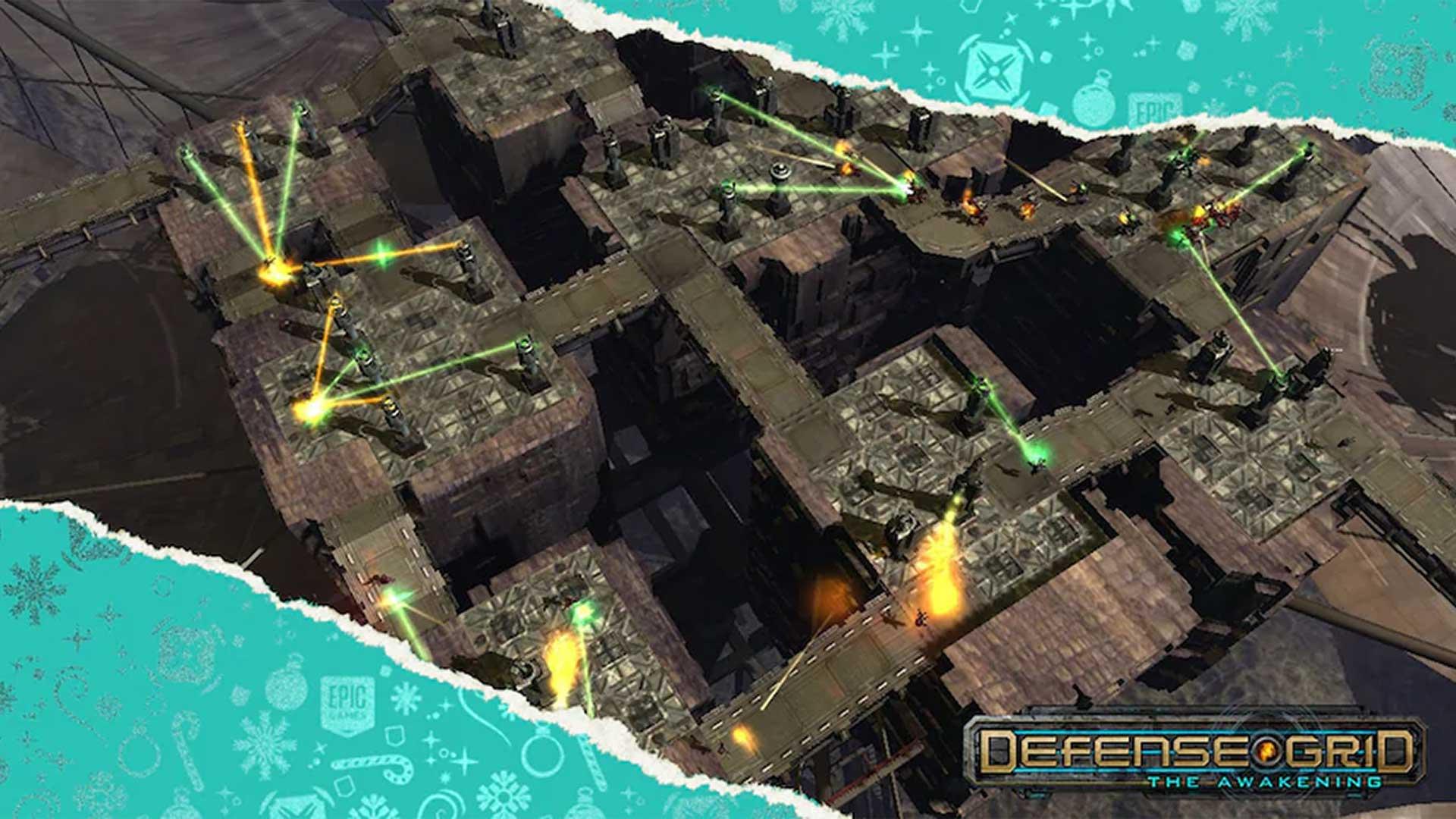egs xmas free game defense grid