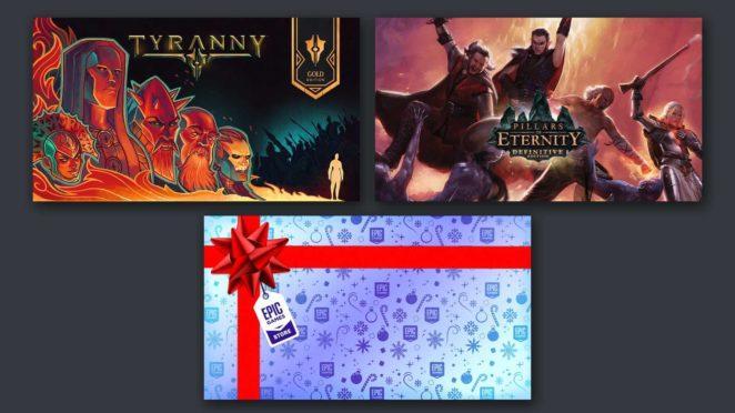 epic games free collection pillars tyranny