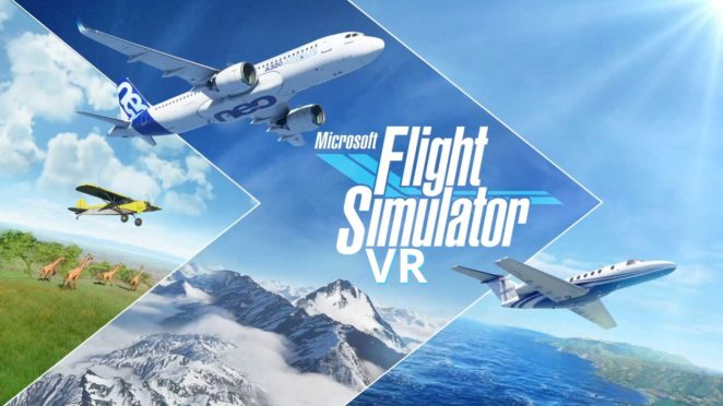 microsoft flight simulator 2020 vr