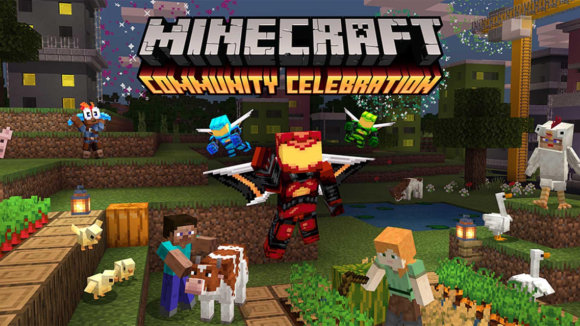 minecraft community celebration 2020
