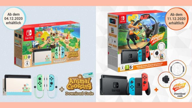 nintendo switch bundles acnh ringfit