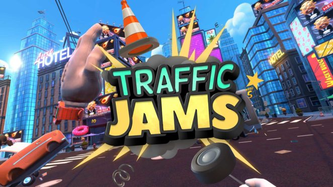 trafficjams vr cover