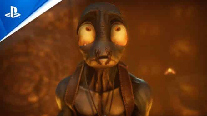 Oddworld Soulstorm The Game Awards 2020 Trailer PS5 PS4