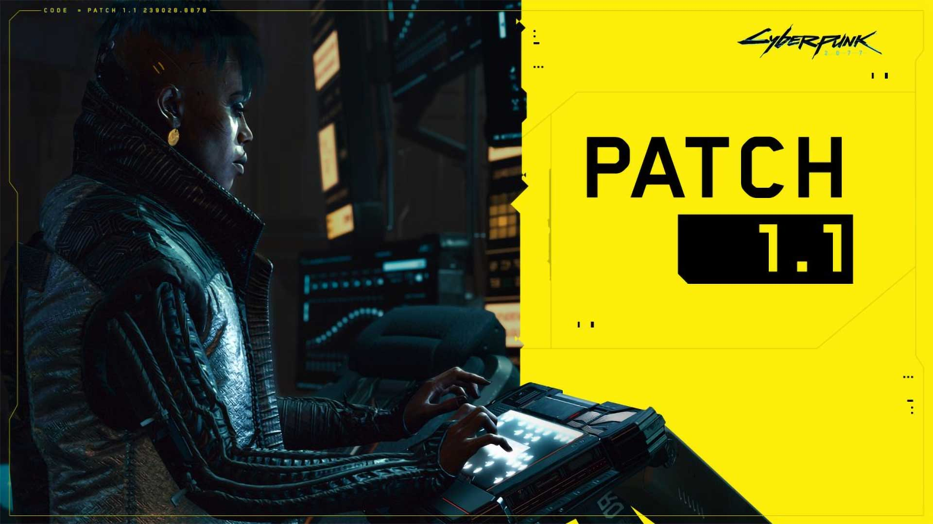 cyberpunk 2077 patch 1 1