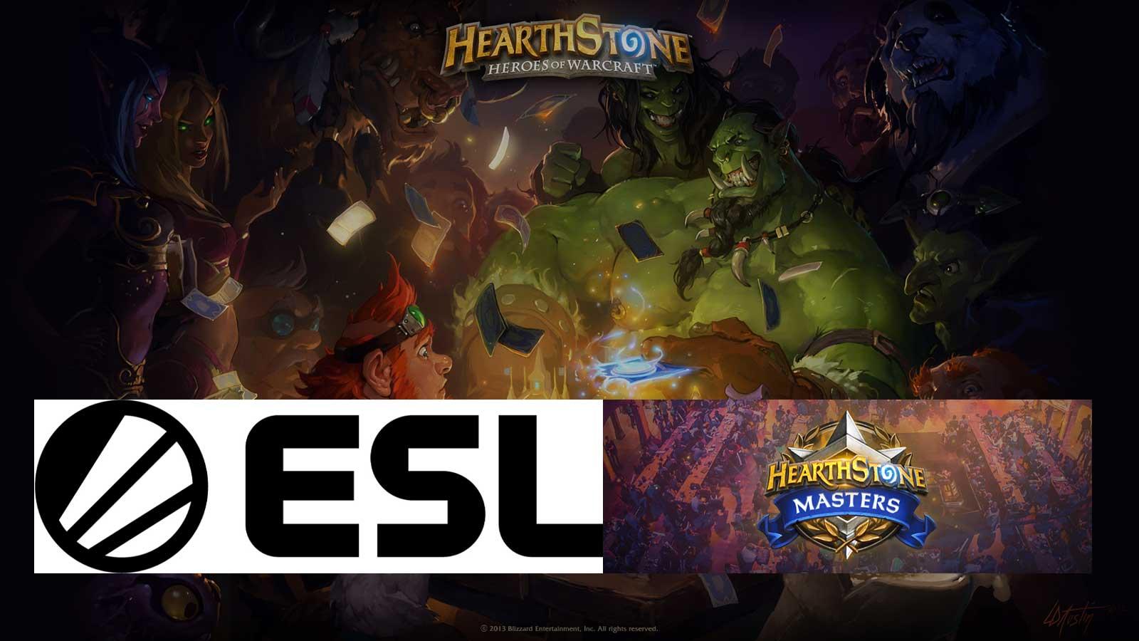 esl X Blizzard Hearthstone E Sport