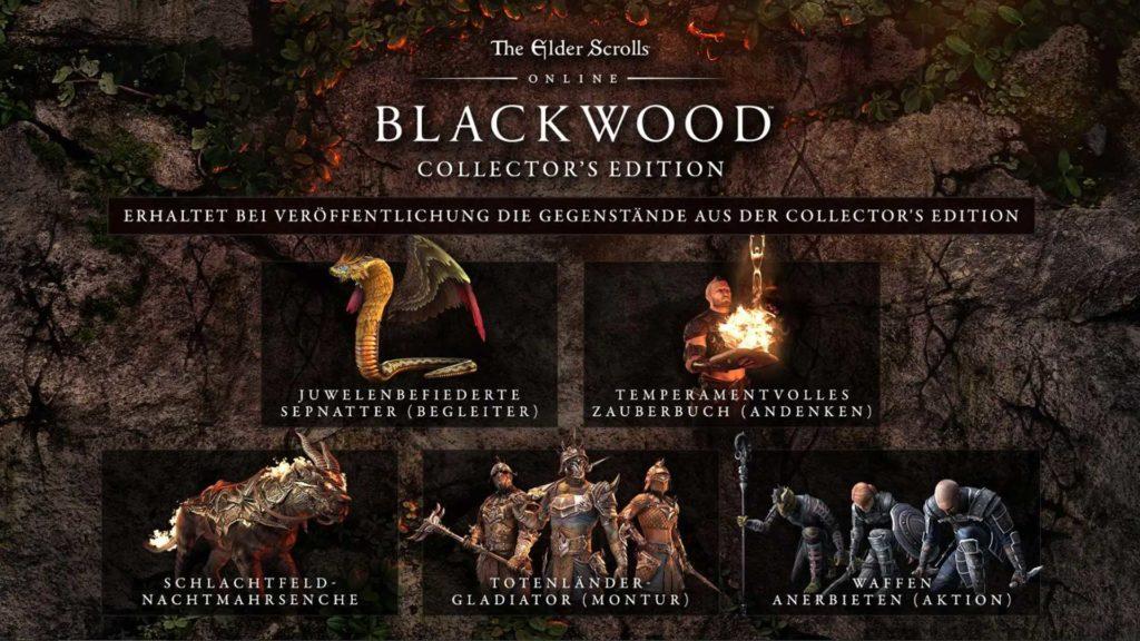 eso blackwood collectors edition