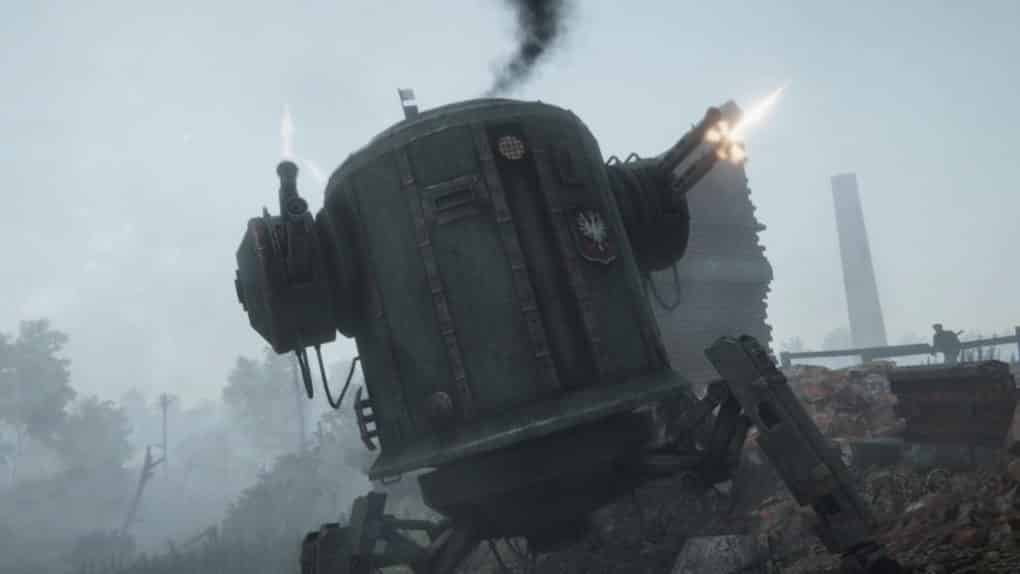 iron harvest screen war machine