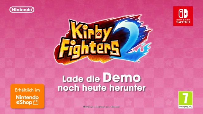 kirby fighters 2 demo
