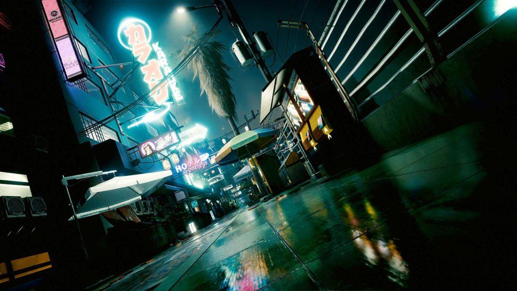 Raytracing macht Night City noch beeindruckender.