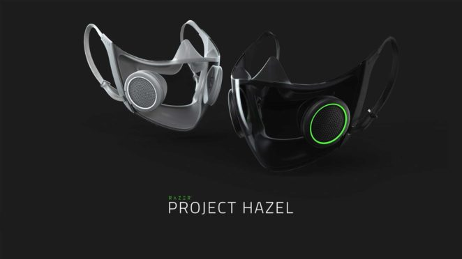 razer hazel smart mask