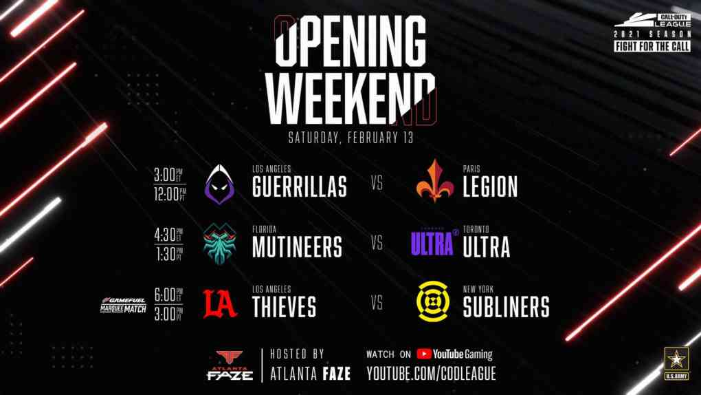 CoD League 2021 Opening Weekendjpg