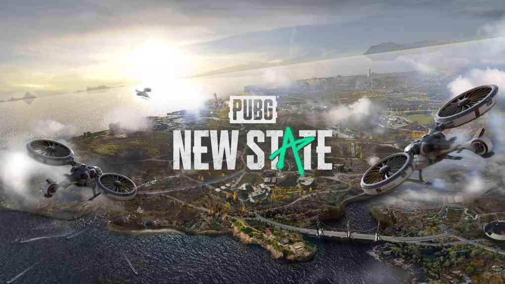 PUBG NEW STATE key art