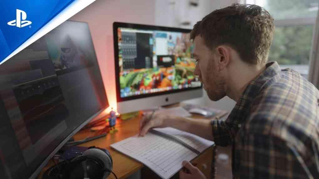 Sackboy A Big Adventure Working From Home PS5 deutsch 1