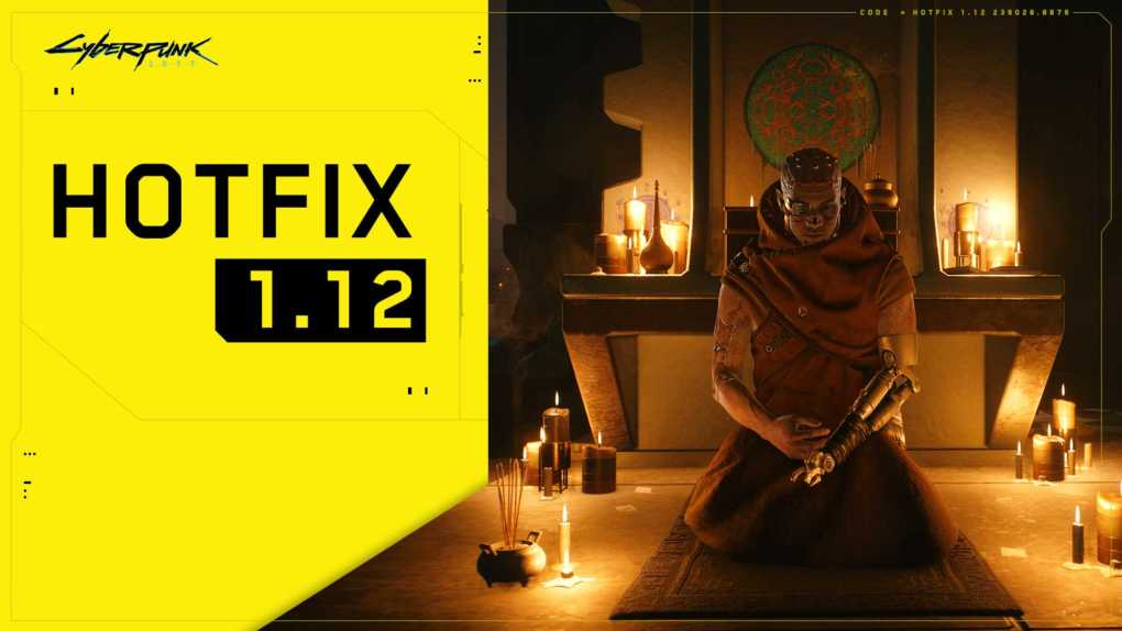 cyberpunk 2077 hotfix 1 12