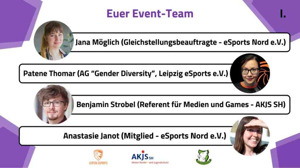 Das Event-Team. Quelle: eSports Nord e.V.