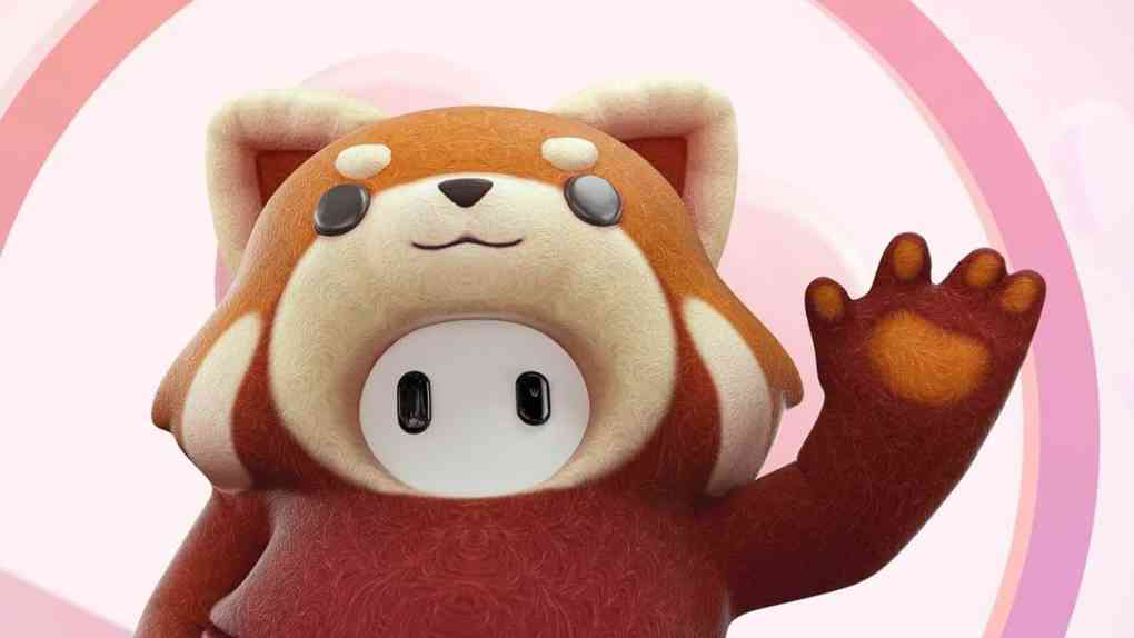 fall guys roter panda cover