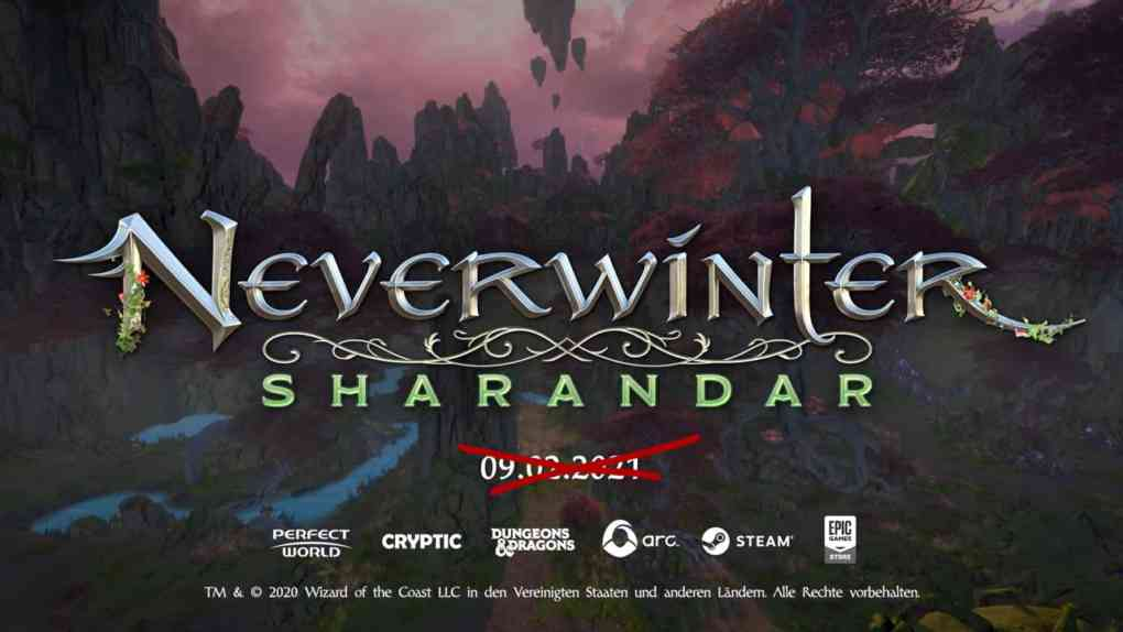 neverwinter sharandar delay