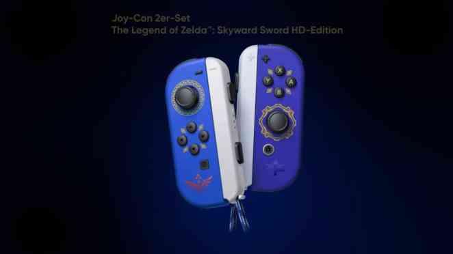 nintendo switch joy con zelda skyward sword