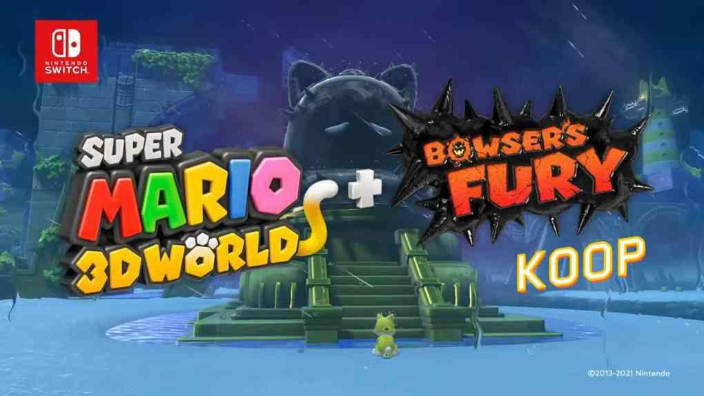 super mario 3d world koop