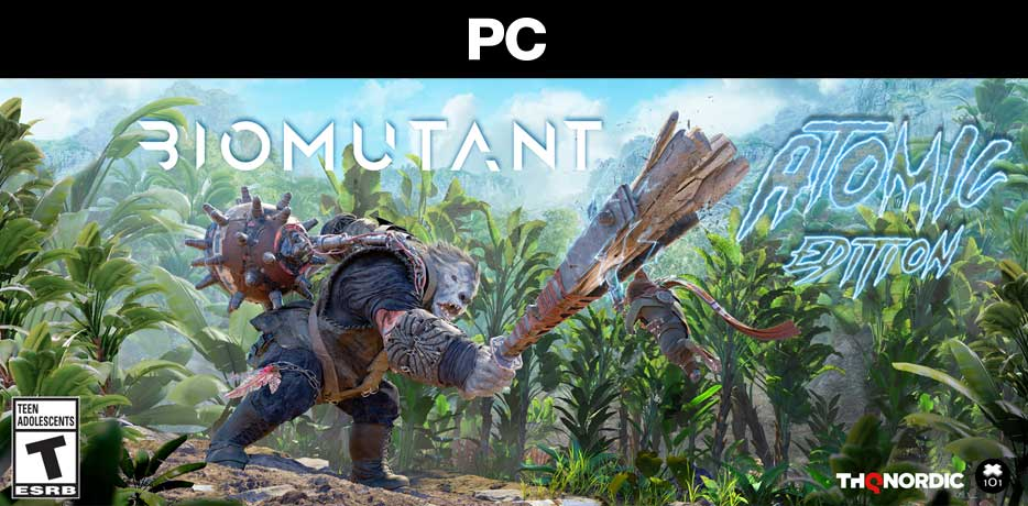 PC ATOMIC Biomutant Packshot ESRB