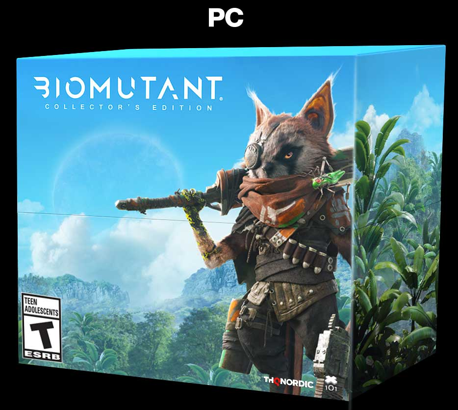 PC Biomutant Packshot ESRB
