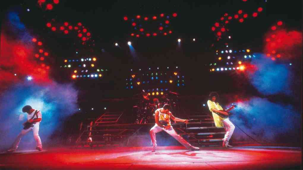 Queen Magic Tour 1986. Quelle: Denis ORegan © Queen Productions Ltd
