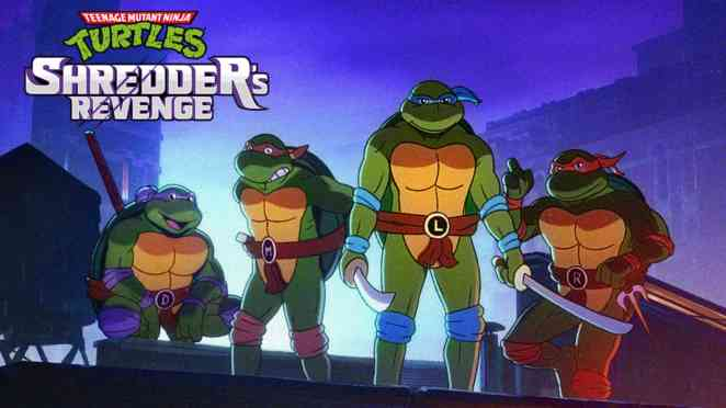 TMNT shredders revenge cover