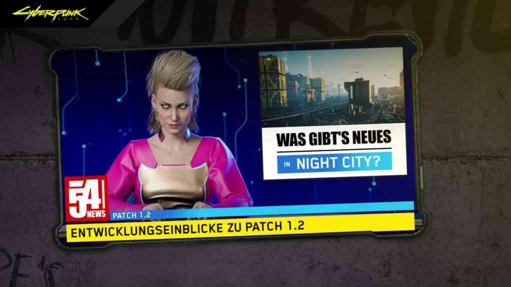cyberpunk 2077 patch 1 2
