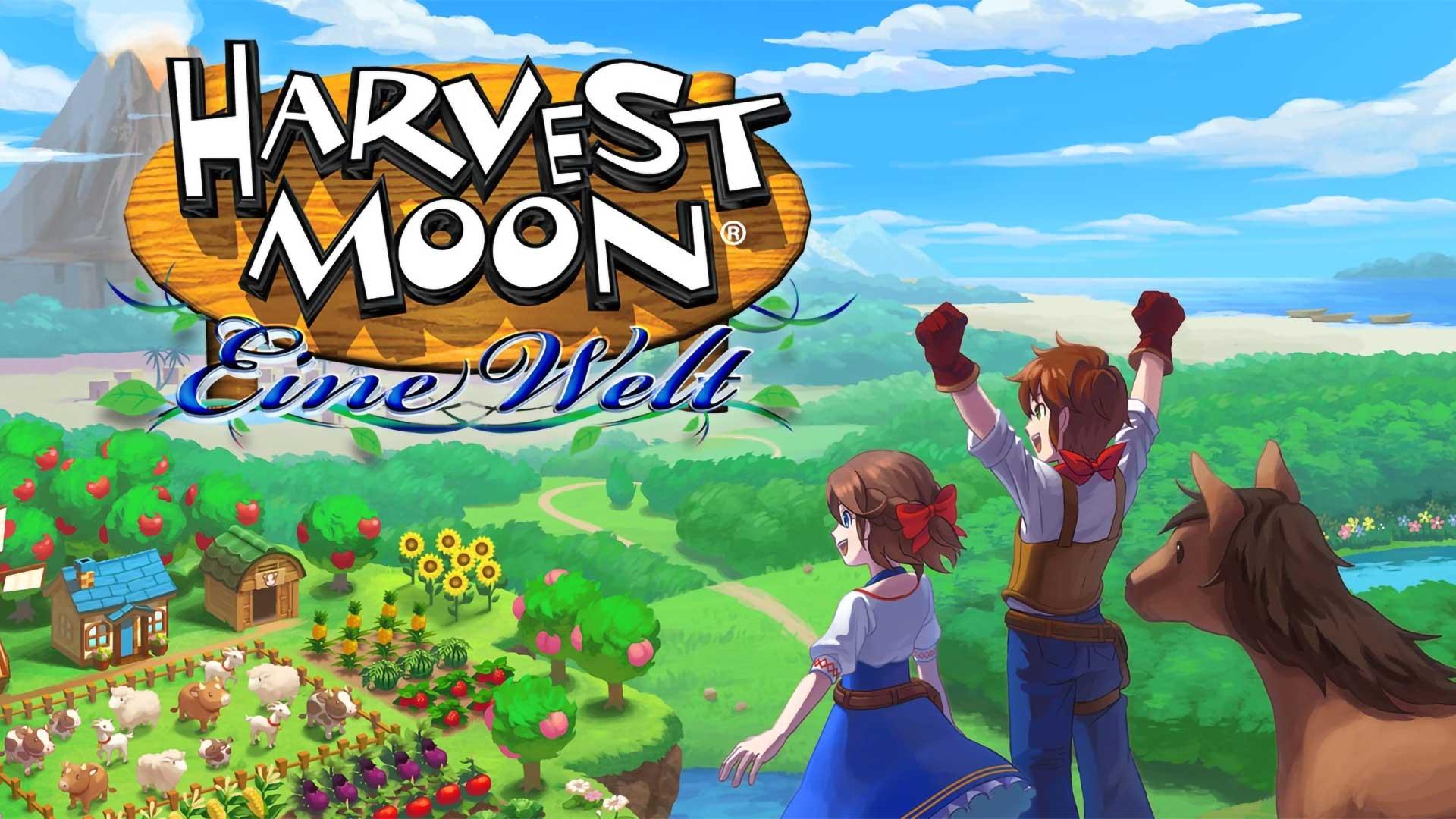 harvest moon one world eine welt