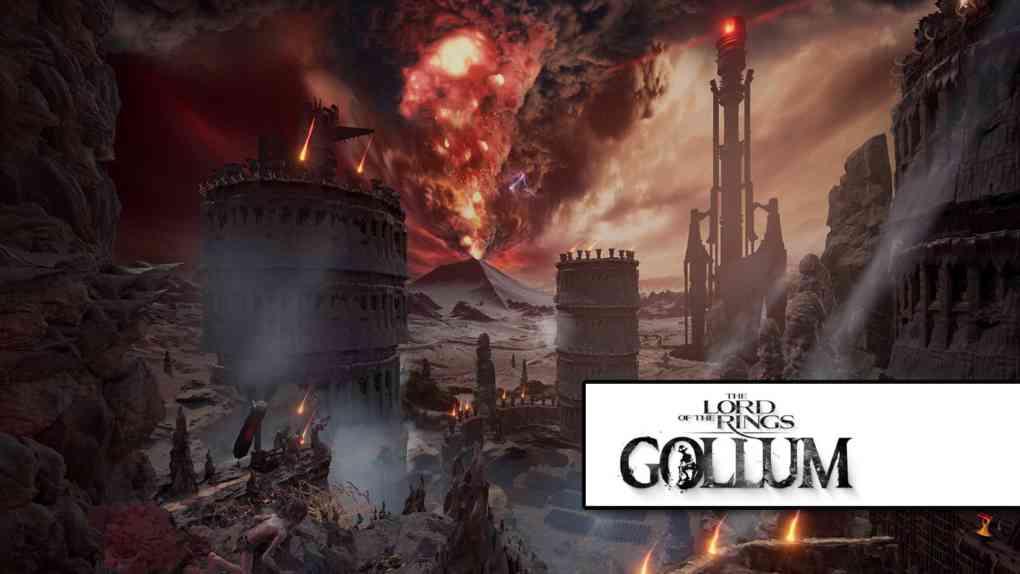 lotr gollum game