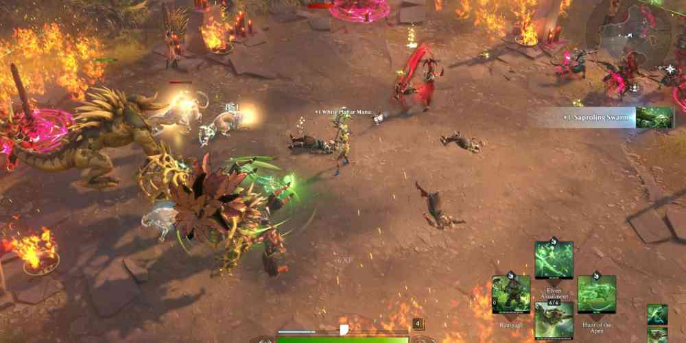 magic legends gameplay