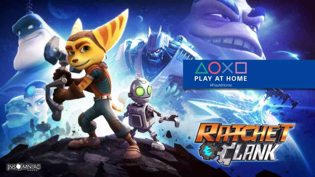 ps play at home ratchet clank