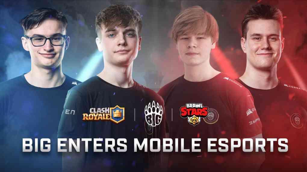 BIG goes Mobile E Sport