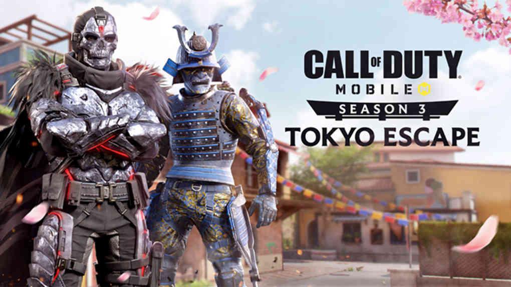 CoD Mobile Season 3 Tokyo Escape