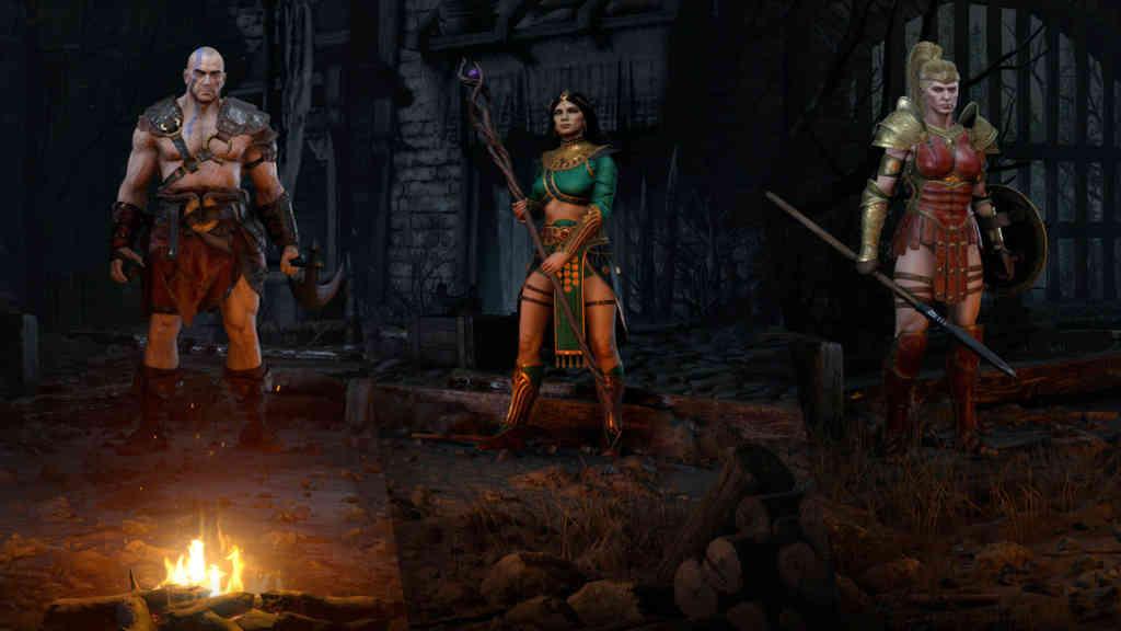 Diablo 2 Resurrected Alpha Klassen