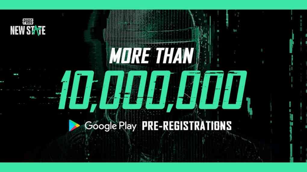 PUBG NEW STATE 10 Millionen Registrierungen