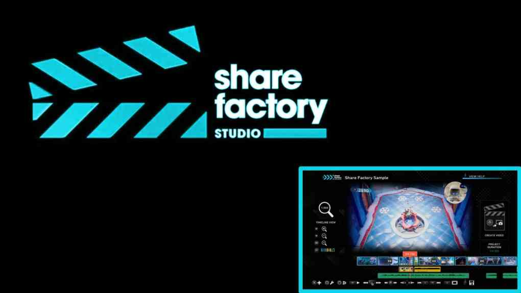 SHAREfactory Update