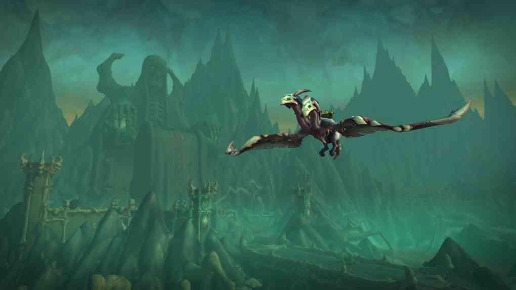 WoW Shadowlands Chains of Domination Flying 9.1 1920x1080