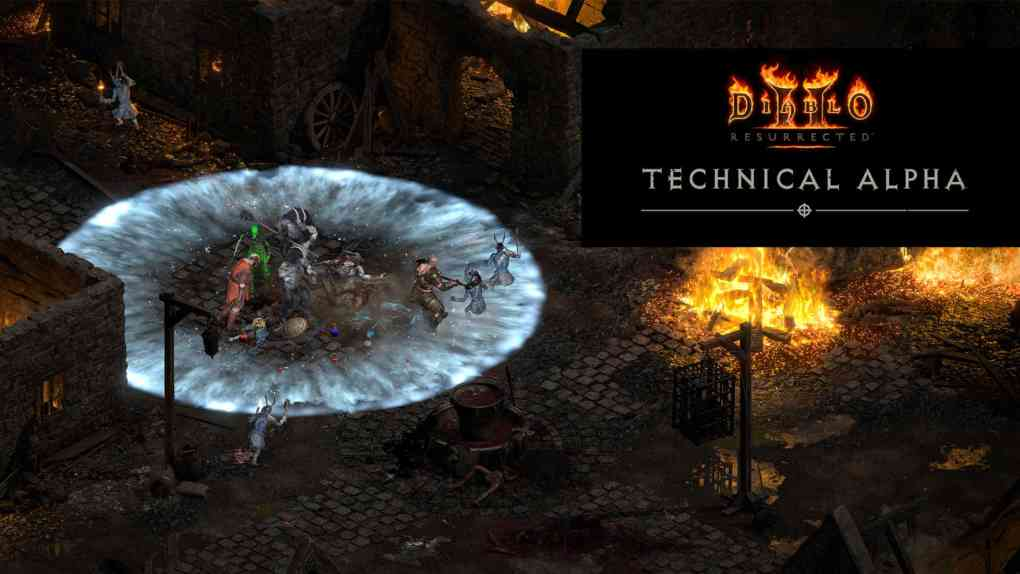 diablo 2 resurrected tech alpha
