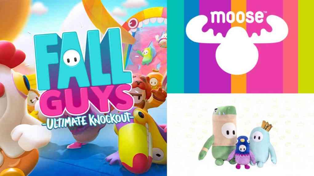 fall guys moose toys